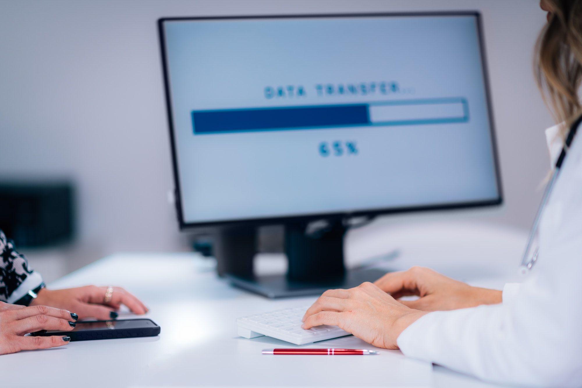 Healthcare Data Privacy Concept